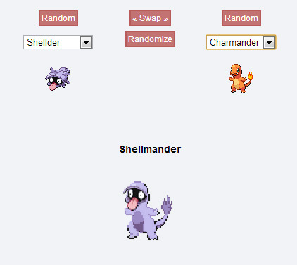 I know alot of people are doing this Pokemon Randomiser thingy right now. But I've come to the conclusion, no matter who's body you put Shellder's face onto, it's always gonna look like a kid in a Halloween costume.