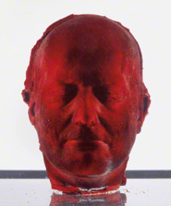 Self (Marc Quinn)You took 8 pints of your own blood,Froze it, and out of itYou sculpted your own head.Art, on a life support. Most people were disgusted.A wretch really echoes In an art gallery. Red really chokes conforming white.Behind the glass caseYour untamed, decapitated animal sat,My very own Lord of the Flies.It spoke to me about The fragility of life,Questioned who, out of the two of us,Was more human.My gut instinct when facedWith you looking a million pounds(or around that rumoured, at auction), Was to lick.To erode your sorbet cheek with my tongueTo taste, in cold blood.I researched that the head and the bloodBoth take up 8% each Of the weight of the human body.I wonder if you knew this.I wonder if it has any significance to your vision.I think of how you must beSo much colderThan the death mask.I think of you every timeI get a rush of blood to the head.