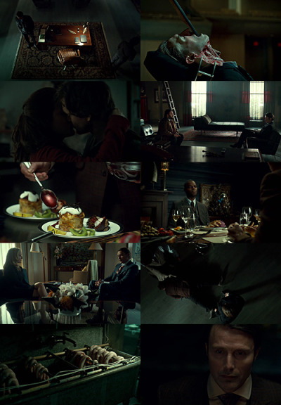 "horriblycheerful:  Hannibal | Fromage  ""He's nothing like me. We see the world in different ways and yet he can assume my point of view."""