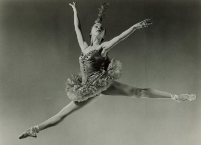 Sad that Maria Tallchief, a trailblazer who refused to drop her Osage name and went on to become one of the world's most famous ballerinas passed away today.  At her prime, she was the highest paid dancer in the Ballet Russe and was also the muse of her then husband Georges Balanchine who created many roles for her.