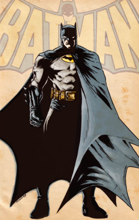 Retro Batman By ~dichiara [Blog]
