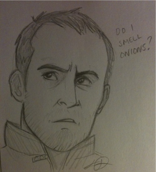 misslupotter:  Appaz all I doodle now is vaguely Dillane-esque Stannis. Oh well… This is based on the bottom right picture from deisegal's photoset hommage to the scruff that is series 3 Stannis.