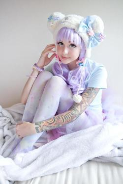 pastelsweetlolita:  Sweetie Dreams Tights PRE-ORDER~, Kawaii Goods - home of kawaii fairy-kei apparel and accessories!♥ ☆ ★ ♪ on @weheartit.com - http://whrt.it/11cBcUd