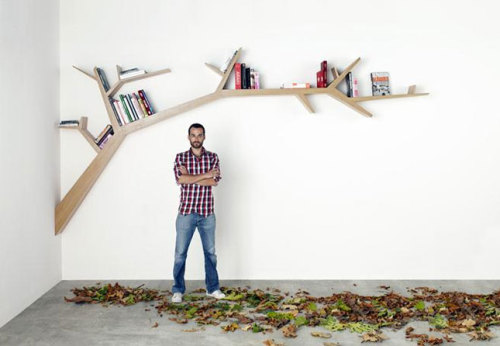 Great Book Shelves (via 20 Brilliant Bookshelves for Modern Bookworms)
