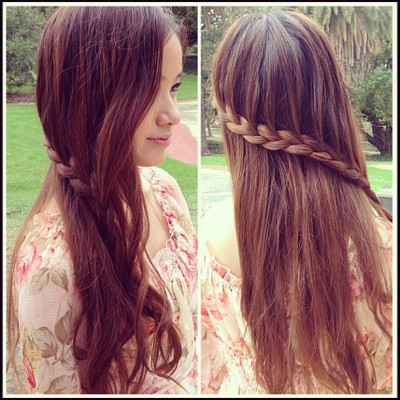 Awesome hair braid that @kaotsun14 did for me! Tutorial coming soon! #hair