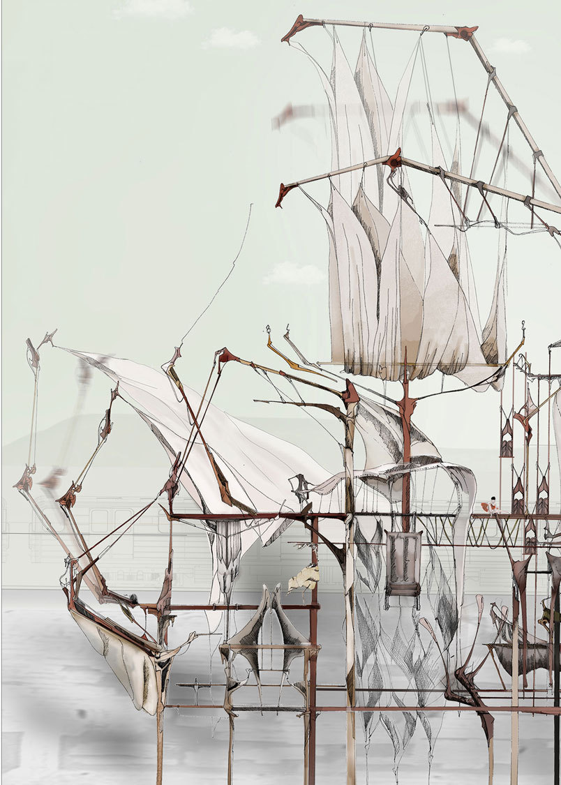 arkitekcher:  The Hidden Orchestra | Alice Labourel  - An Attempt to Render Subjective Experience as Objective Reality.