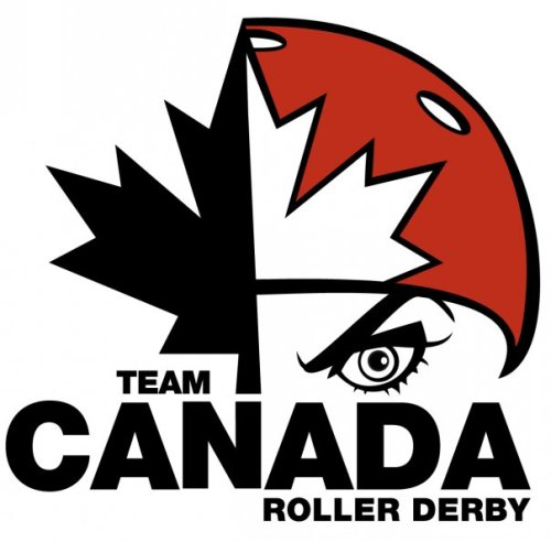 maplemark:  Canadian Women's Roller Derby Association by Evelyn Giron