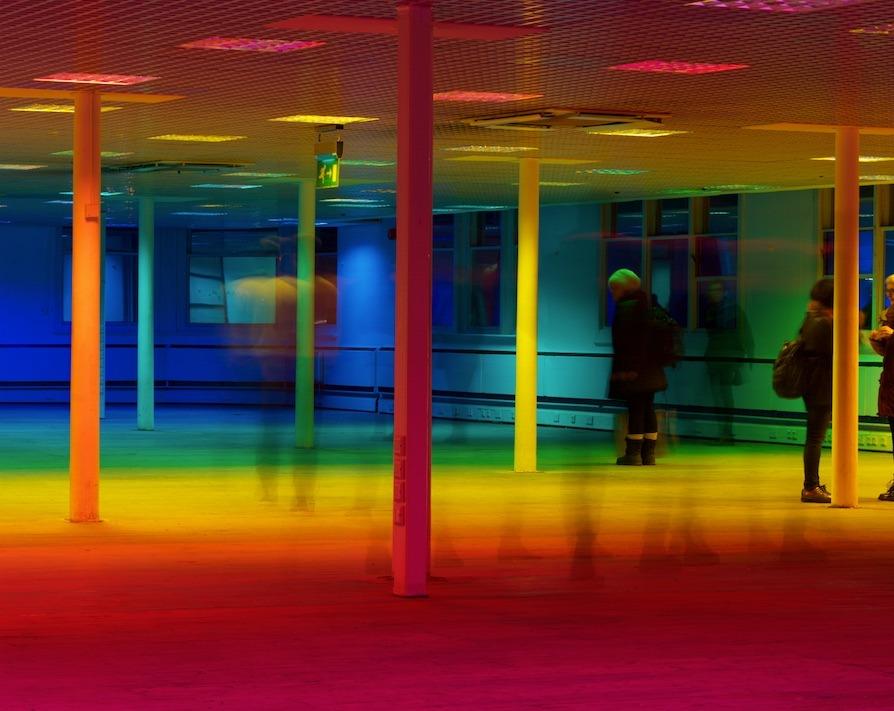 art-yeti:Liz West, Your Color Perception 2015