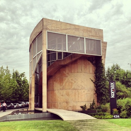 Komax Building, by Undurraga Deves #architecture #archdaily #santiago #chile #instagood #iphonesia #buildings #architexture
