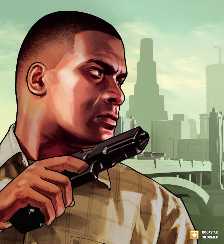 New GTA V Artwork
