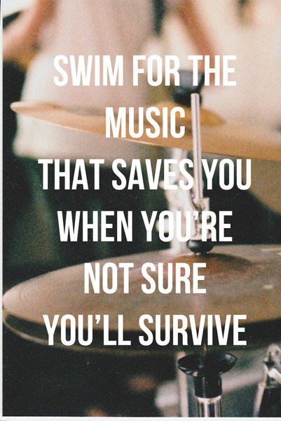 thingssheloves:  (via Music Saves Art Print by Aldy | Society6)