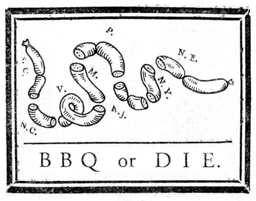 "superpreciousgallery:  ""BBQ or DIE"" Ryan Frease Holliston, MAryanfrease.com 11"" x 14"" Limited Prints, 