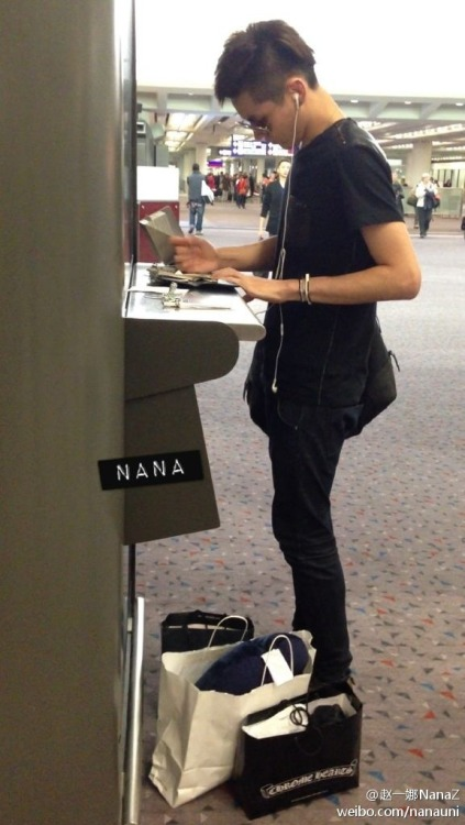 [PREVIEW] 130221 Kris @ AirportDO NOT EDIT. // cr. Nana