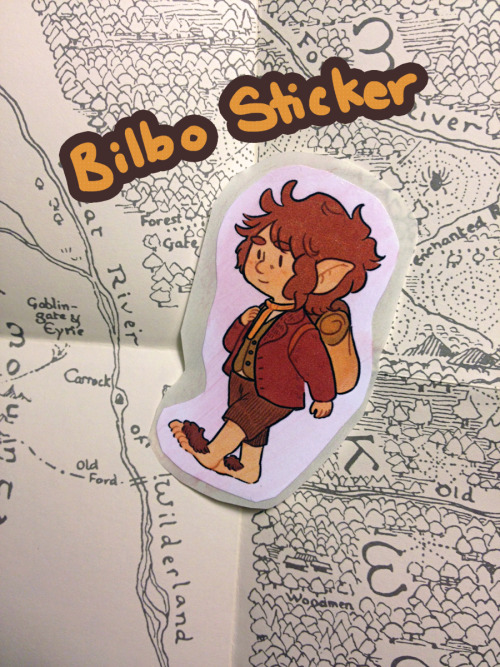 inchells:  How can I forget our favorite hobbit, now available on my storenvy!