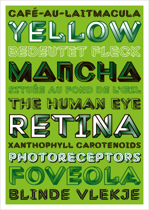 Macula, the impossible typeface, has been released at Bold Monday type foundry. Special price of 35 Euros per font until the end of December!