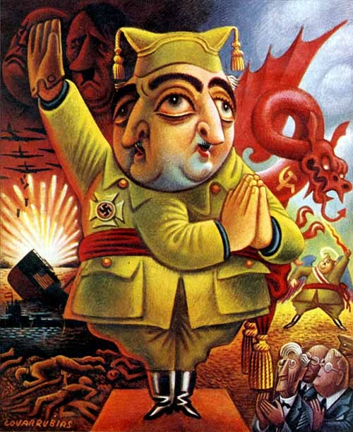 Miguel Covarrubias, Lest We Forget, 1950.