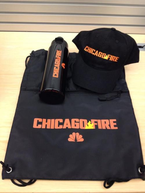 nbcchicagofire:  Want a Chicago Fire prize pack? Head over to Twitter NOW and enter to win!