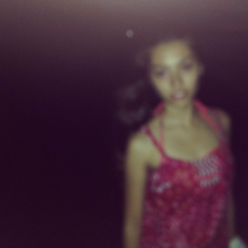 Night swimming #blurrr