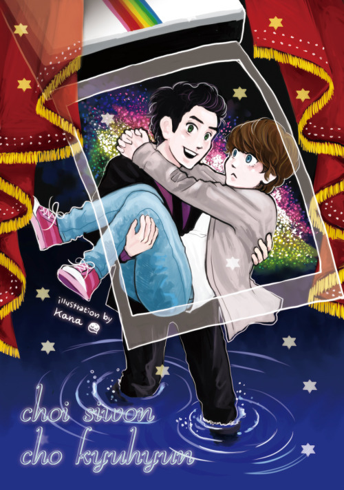 wonsugarkyub:  kyuradius:  fanart: wonkyu (((this was supposed to be dedicated to a chinese wonkyu fanbook but i haven't heard any news about it for almost a year so i decided to post here anyway)))(((I'm sorry)))  it's been a while K. I really missed your WonKyu fan arts. *cry*