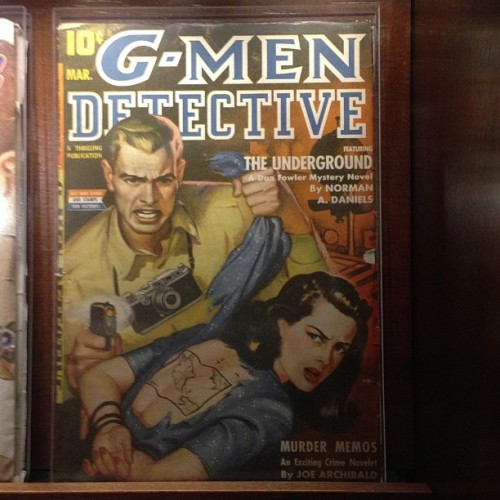 tattoohistorian:  Found this fabulous comic book cover while at Geppi's Entertainment Museum for an American Alliance of Museums conference event tonight. Go figure! Tattoo history everywhere!
