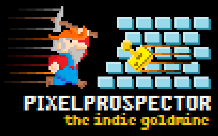 "PixelProspector Sites PixelProspector.com - ""indie games… and essential resources for game developers"" Make Games! - showcase of game making tools and the games that were created with them Indie Shmups - showcase of shooting games PixelProspector Art Gallery - showcase of really nice pixelprospector related art from various artists Indie Games - The Mega List - showcase of ~340 indie games on 1 page Greenlight Picks - showcase of ~160 indie games on Steam Greenlight Gaming Sites Showcase - list of ~140 sites that report about games YouTubers Showcase - list of ~100 youtubers who review indie games 100 Indie Game Picks for IGF - showcase of indie games from igf 2013  PixelProspector Social Media Stuff YouTube - compilation videos (235 Free Indie Games in 10 Minutes etc.) and game related playlists (platformers, shmups, playthrough collections…) Twitter - game dev related stuff, links to interesting sites, articles etc. Facebook - links to interesting sites, articles etc. Tumblr - game related discoveries from around the net Pinterest - video game related boards (Indie Games Mega List etc.) Reddit - sometimes active in /r/IndieGaming Projects That Are Currently In Development PixelProspector's Marketing Guide Interviews With Game Developers Freelancer Site Projects That Are Currently On Hold Platformer Tribute Site Fitness Site"