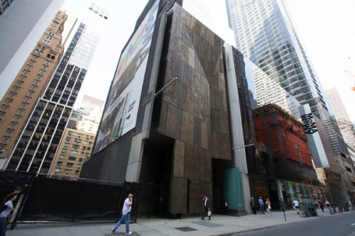 "Many architects have been up in arms recently over the news that MoMA is going to demolish the former building that housed the American Folk Art Museum. However, some in the arts world say don't cry over a spilled cocktail — unless it's a finely stirred Negroni, I say. Anyways, what does this signal? Hypocrisy on MoMA's part? A lack of understanding for suiting the true function of a museum? Self-absorption by architects? Idol worship? Developer/owner as king? Maybe all of the above, but I think it signals the opportunity for discourse regarding the subject. No better place to join diverse crowds than at the always-worthy hub of conversation — the drinking place. Maybe the one where Mr. Taniguchi drowned his misplaced sorrows that started all this hubbub: ""When Taniguchi was chosen to design the new, vastly expanded Museum of Modern Art seven years ago, a lot of people in the art world scratched their heads. Out of 10 architects invited to compete for this prize commission (all were under 60—MoMA had ruled out the generation of Frank Gehry), Taniguchi was virtually unknown in America, and his scheme for MoMA's midtown Manhattan site seemed so smooth and corporate—so unfashionably tame—it looked like a long shot next to the provocative concepts of such hotshots as Rem Koolhaas and Herzog & de Meuron. Even Taniguchi didn't think he'd win. Convinced he'd fatally fumbled his key presentation to MoMA's trustees, he headed straight to a neighborhood bar to mourn."" — ""New York's great modern museum is reborn, thanks to $425 million and an unlikely architect named Taniguchi"" by Cathleen McGuigan, Newsweek"