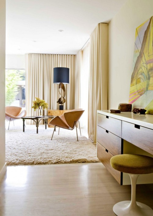{On the blog} Interiors: Mid-Century Modern Monday