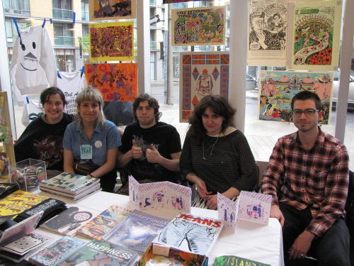 collectivestench:  TCAF gang - Laura, Leah, Tom, KJ, Tim