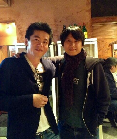 otsune:  Twitter / miyagawa: Had a great dinner with my …