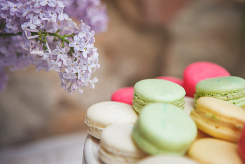 pretty-glamorous:  The most delicious macaroons <3