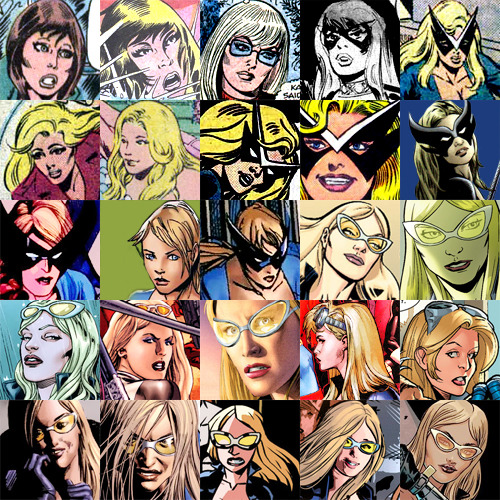 fuckyeahbobbimorse:  Bobbi Morse/Agent 19/Huntress/Mockingbird from between 1971 (Astonishing Tales 6) and 2013 (Secret Avengers 4)