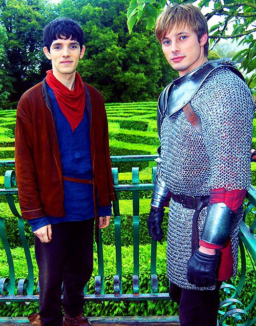 worthyourtears:  55/100 Merlin and Arthur