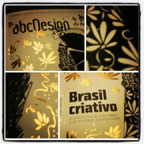 Chegou a cortesia da @adgbrasil. Thanks!
