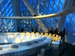 Palace of Peace and Accord, Astana, Kazakhstan [arch Norman Foster]  When I plan world domination, I will hold my conference here.