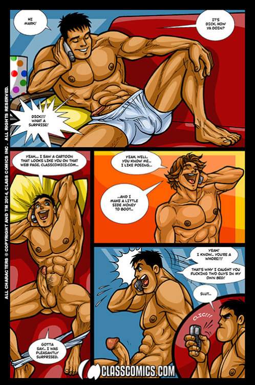 classcomics|David Cantero's Hilarious and raucously raunchy DICK: 9 inches and unemployed comes to Class Comics!