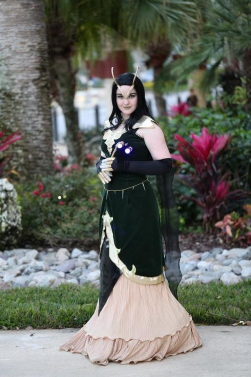 necroticnymph:  Avengers Gowns - Loki Cosplay by NecroticNymph Design by ToughTink Photo by David Hennis HOLY COW GUYS LOOK AN ACTUAL FULL-LENGTH PICTURE OF MY LOKI GOWN!!! /DIES  *flailing*