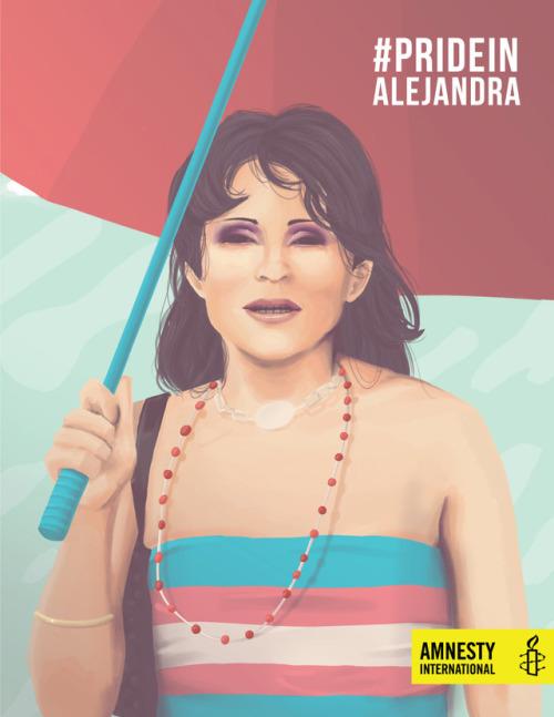 ice immigration refugees Aslyum el salvador pride pride month transgender LGBT LGBTQ LGBTI human rights Amnesty International