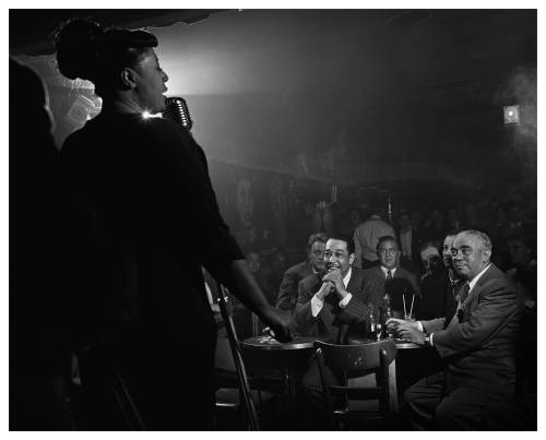 historicporn:  Ella Fitzgerald, Duke Ellington and Benny Goodman.NYC, 1948.