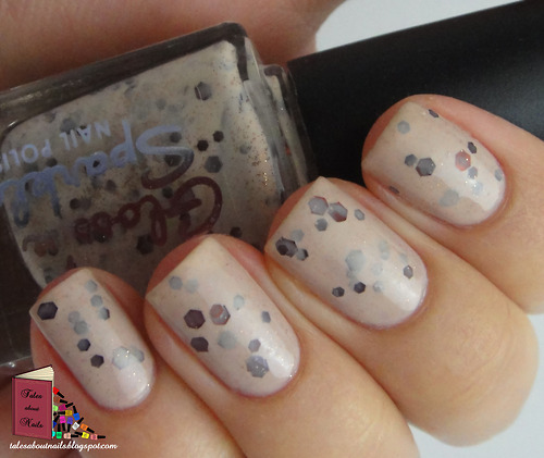 Gloss 'n Sparkle - Cookie Dough http://talesaboutnails.blogspot.com.au/