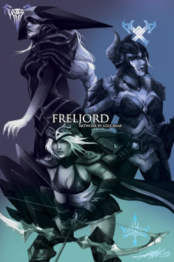 naplayslol:  League of Legends: Freljordby ~betrayal-and-wisdom