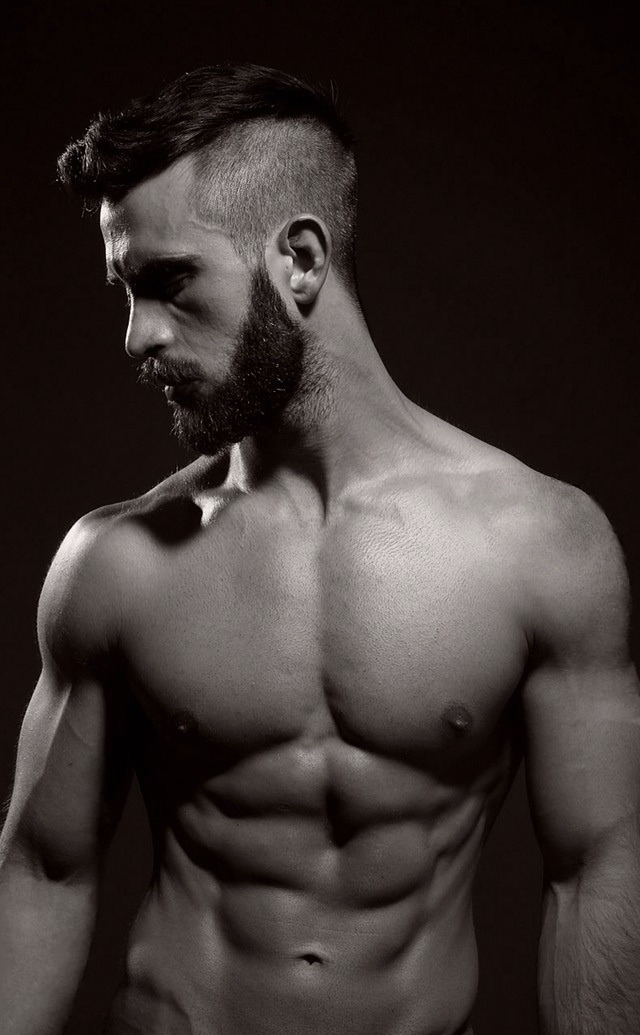 vikingposts:  model: Daniel Hayes Beards, design and more;http://vikingposts.tumblr.com
