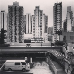 #building #architecture #hongkong #bw #blackandwhite (at Shek Pa Wan Bus Station)
