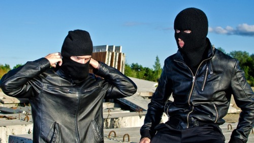 "Creator of CV Dazzle Debuts Anti-Surveillance Clothing Line  Brooklyn-based artist Adam Harvey is scheduled to unveil a line of fashion called Stealth Wear at a London studio. Working in collaboration with fashion designer Johanna Bloomfield, Harvey used materials designed to disguise and protect the wearer from thermal imaging, X-rays, and other technologies commonly used in surveillance. The garments include ""an anti-drone hoodie and matching scarf…and a pocket protector that he says blocks cell phones from sending and receiving signals."" At the exhibit, each garment will be accompanied by information about the relevant technology and counter-technology behind its creation.  (via Worried About Drones? Try Wearing This Hoodie 