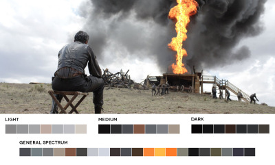 astronautmikedexter:  A study of color - There Will Be Blood Cinematographer - Robert Elswit