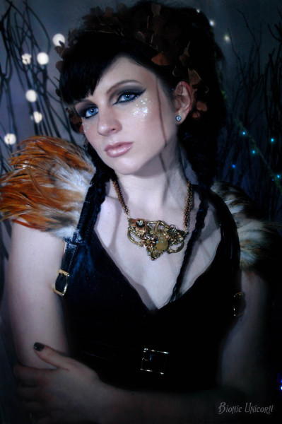 Jewelry and Photography by Bionic UnicornLeather Harness by The Artificer's Aethernautical EmporiumSpecial thanks to Amber Rose Hair + Makeup Starring Penny Dreadful