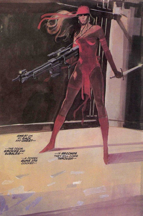 Elektra: Assassin (Bill Sienkiewicz, 1986)