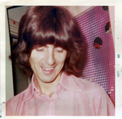 George Harrison Polaroids.