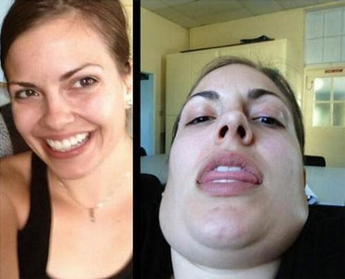 pleatedjeans:  Pretty Girls Making Ugly Faces (22 Pics)