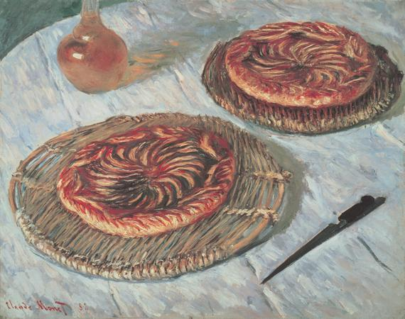 artmastered:  Claude Monet, Fruit Tarts, 1882