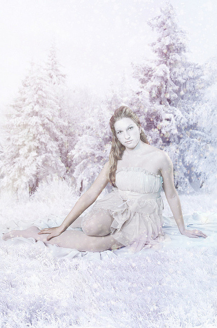 Ice Princess on Flickr.Via Flickr:Model: MariaMUAH: Euge EvdokimovaPhoto&Edit: Dasha Summermy site | twitter | deviantART | facebook